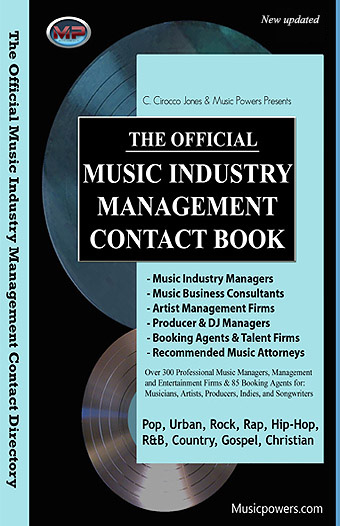 Management, Booking, Attorney Contacts eBook